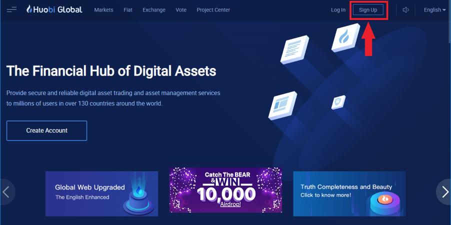How do I register for an account?-Huobi Global-Official Huobi Website